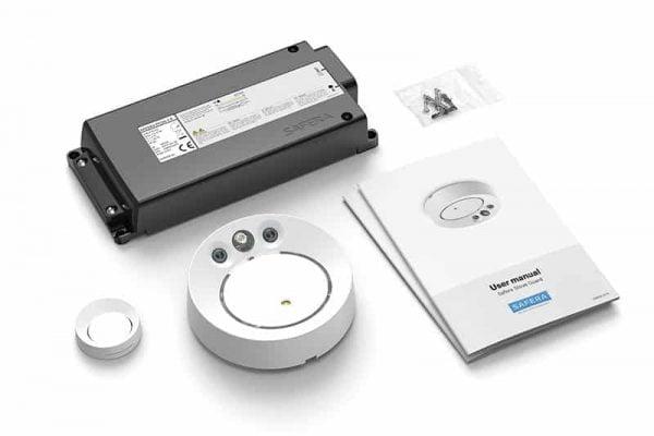Safera Aurora stove guard with power control unit PCU6.1-P