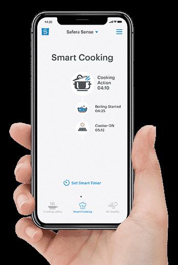 Safera-mobiilisovelluksella viet ruoanlaiton uudelle tasolle.