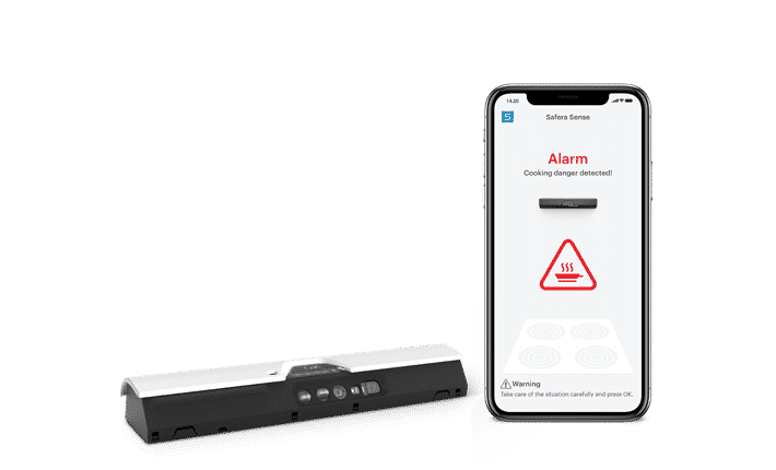 Safera Sense Wi-Fi stove guard