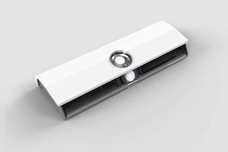 The sensor unit of Safera Airis stove guard is discreet and stylish