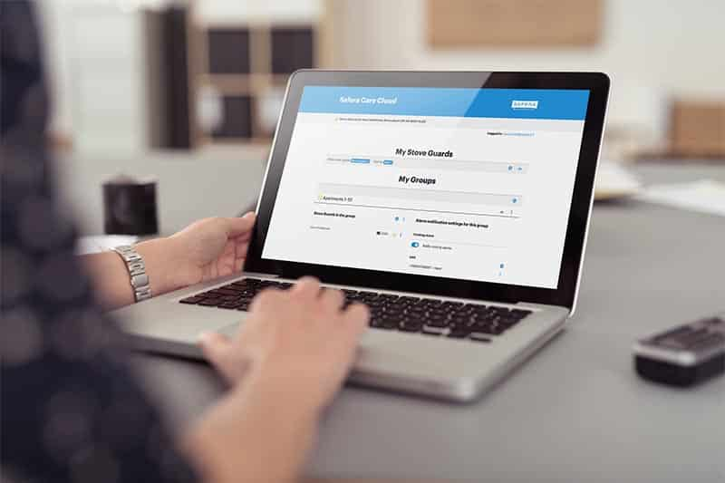 Safera Care Cloud makes it easy to manage remote alarms